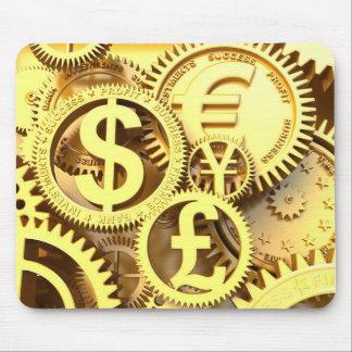 Tempo - dinheiro mouse pad