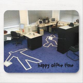 Tempo do escritório!! mouse pad