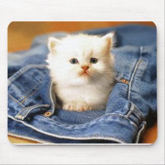 tempo do gatinho mouse pad
