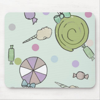 tempo dos doces mouse pad