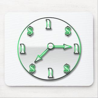 Tempo é dinheiro mousepad