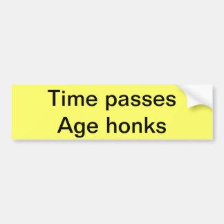 Tempo e idade adesivos