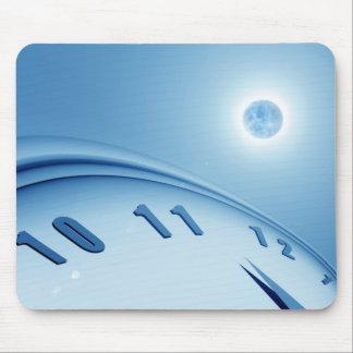 Tempo & espaço mouse pad