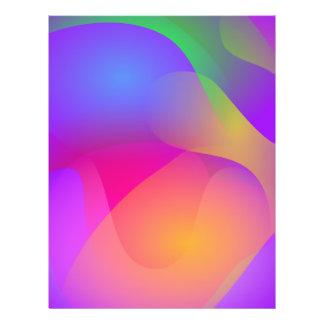 Tempo ideal panfletos coloridos