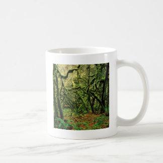 Tempos Mossy das árvores da natureza Canecas