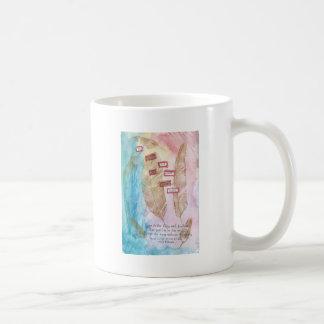 Tenha a fé caneca de café