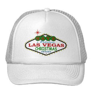 Tenha um boné fabuloso do Feliz Natal de Las Vegas