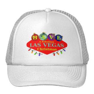 TENHA um chapéu fabuloso do Natal de Las Vegas Bonés