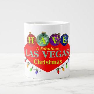TENHA uma caneca fabulosa do jumbo do Natal de Las Jumbo Mug