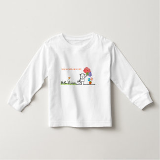 Tenha uma grande camisa da longo-luva T da criança