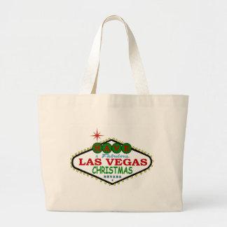 Tenha uma sacola fabulosa do Natal de Las Vegas Bolsas De Lona