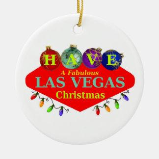 TENHA uns enfeites de natal fabulosos de Las Vegas