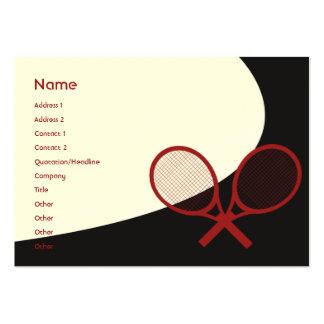 Tênis - carnudo cartão de visita grande