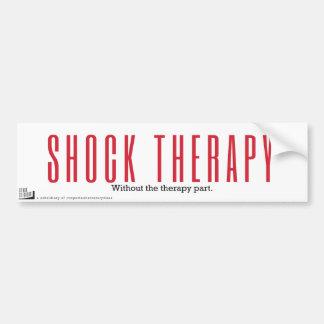 Terapia de choque. Sem a divisória da terapia Adesivo De Para-choque