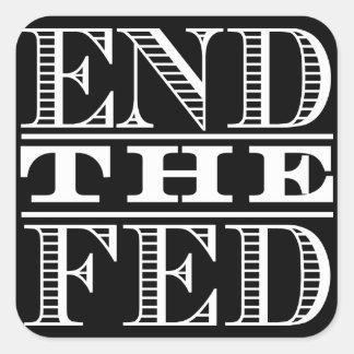 Termine a etiqueta de Fed