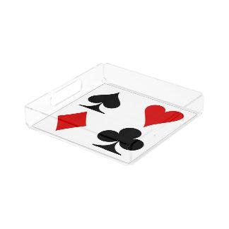 Ternos do cartão de jogo