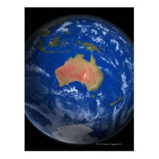 Terra 2 do planeta cartão postal