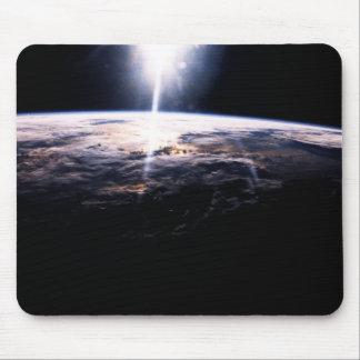 Terra do espaço mouse pad