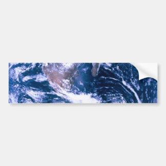 Terra do mármore do azul do espaço adesivo para carro