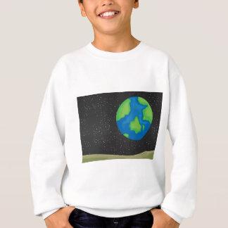 Terra do planeta camisetas