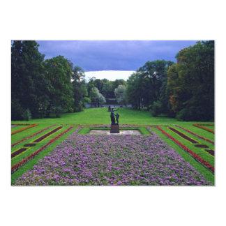 Terras de Pushkin, palácio de verão dos Tsars Convite 12.7 X 17.78cm