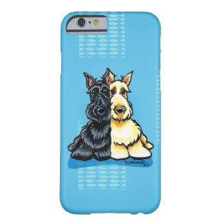 Terrier escoceses dois de um tipo capa barely there para iPhone 6