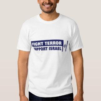 Terror da luta, camisa de Israel do apoio Camiseta