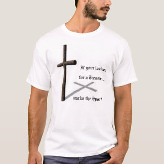 Tesouro do t-shirt do cristo