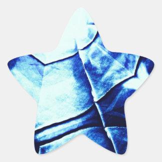 Teste padrão azul desvanecido