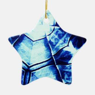 Teste padrão azul desvanecido enfeite