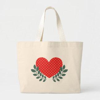Teste padrão branco azul do coração do país do cor bolsa para compras