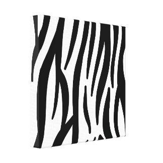 Teste padrão branco e preto da zebra