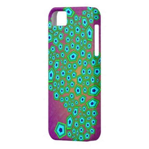 Teste padrão celular abstrato iPhone 5 capas