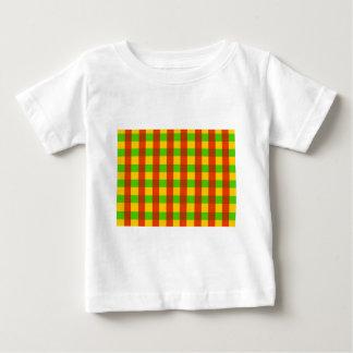 Teste padrão clássico do guingão de Rasta Camisetas