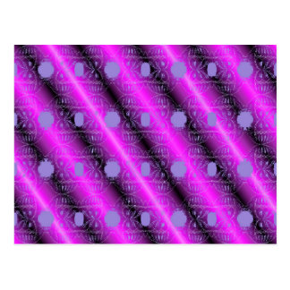 teste padrão cor-de-rosa cartão postal