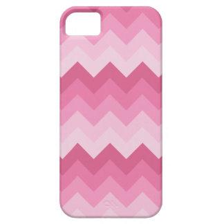 Teste padrão cor-de-rosa da viga capa barely there para iPhone 5