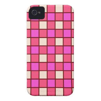 Teste padrão cor-de-rosa telhado capinhas iPhone 4