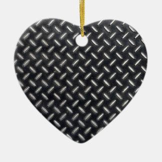 teste padrão da diamante-placa ornamento de cerâmica