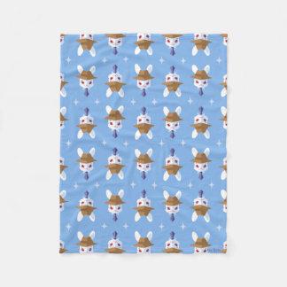 Teste padrão Dapper do coelhinho da Páscoa do Cobertor De Lã