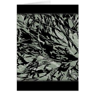 Teste padrão de Absract da camuflagem Cartão Comemorativo