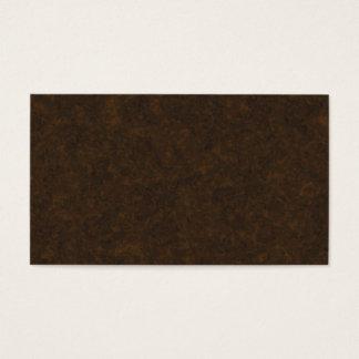 Teste padrão de Brown escuro Cartão De Visitas