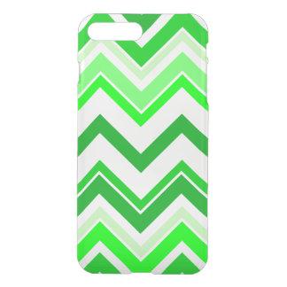 Teste padrão de Chevron do verde limão Capa iPhone 8 Plus/7 Plus