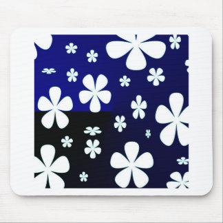 Teste padrão de flor abstrato da flor mouse pad