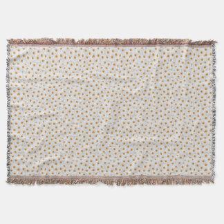 Teste padrão de flor branco da camomila manta