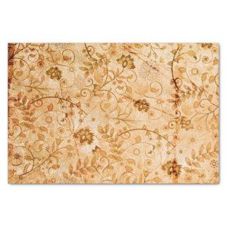 Teste padrão de flor em cores macias papel de seda
