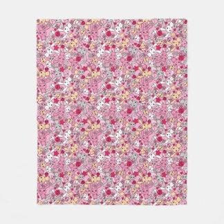 Teste padrão de Kawaii Cobertor De Lã