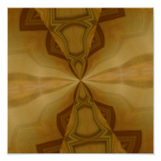 Teste padrão de madeira decorativo pôster