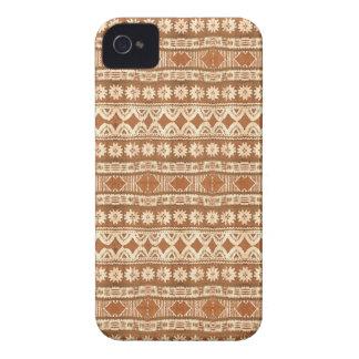 Teste padrão de madeira tribal Blackberry de South Capas iPhone 4 Case-Mate