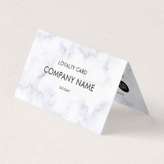 Teste padrão de mármore branco da lealdade