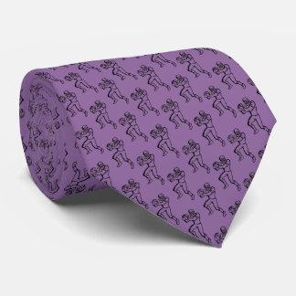 Teste padrão do futebol gravata